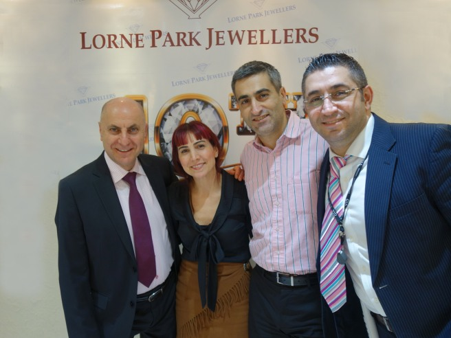 LORNE PARK JEWELLERS TEAM ~ Registered JEWELLER and Certified GEMOLOGIST.