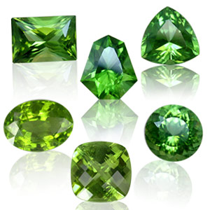 Dark Green Shade of Peridot